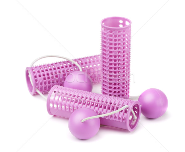 Hair curlers Stock photo © coprid