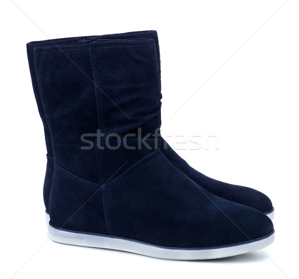 Suede boots Stock photo © coprid
