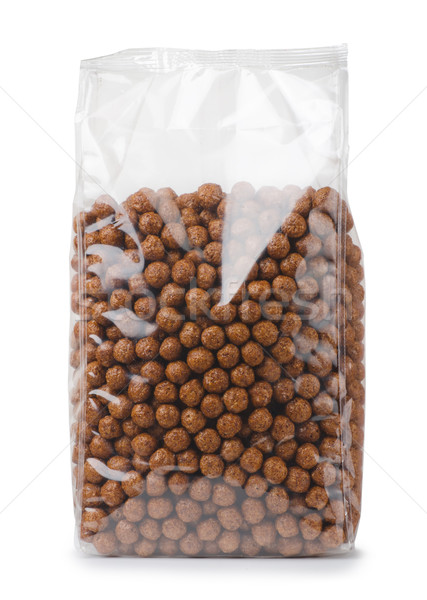 Chocolate cereals Stock photo © coprid