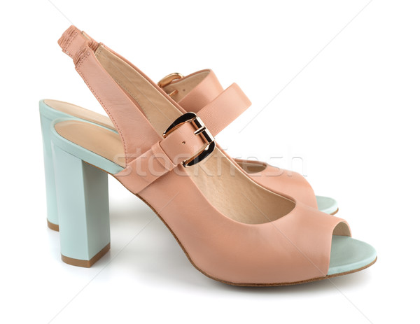High heels shoes Stock photo © coprid