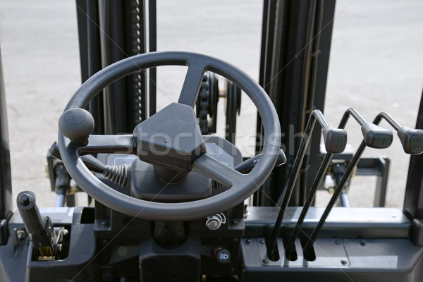 Forklift dashboard Stock photo © coprid