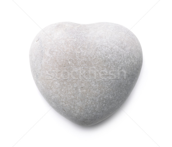каменные сердце изолированный белый любви аннотация Сток-фото © coprid