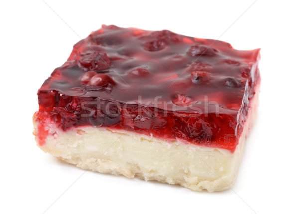 Cherry cheesecake Stock photo © coprid