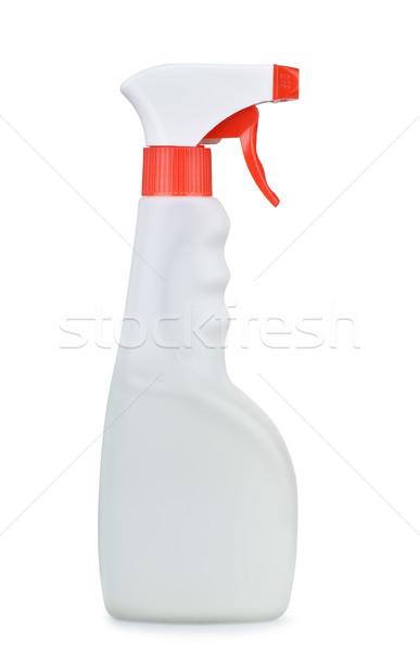 スプレー ボトル プラスチック 孤立した 白 スペース ストックフォト © coprid