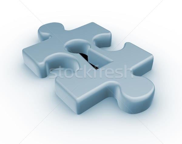 Jigsaw puzzle piece Stock photo © coramax