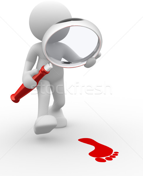 Magnifier  Stock photo © coramax