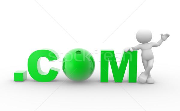 Word '.com'  Stock photo © coramax