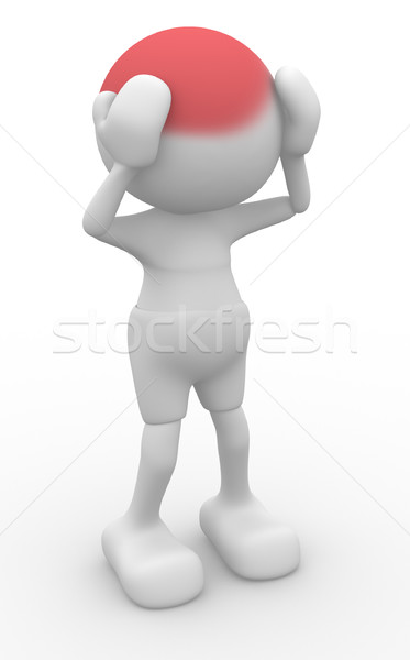 Head pain Stock photo © coramax