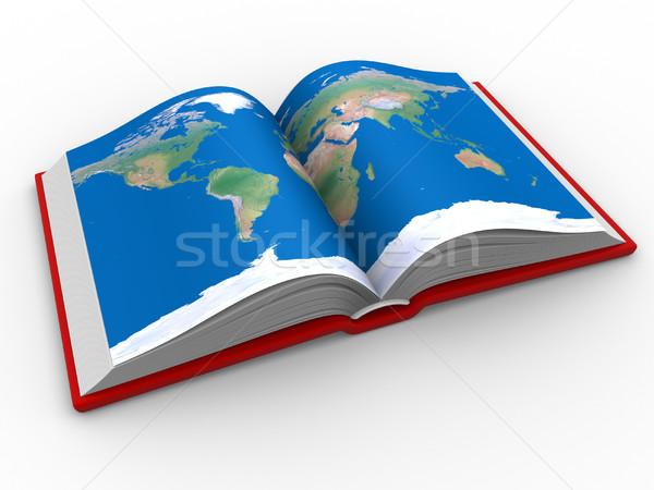world map Stock photo © coramax