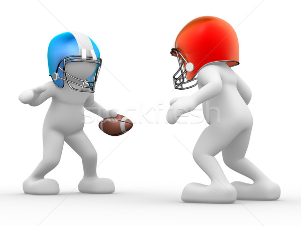 American football player Stock photo © coramax
