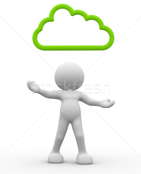 Cloud Stock photo © coramax
