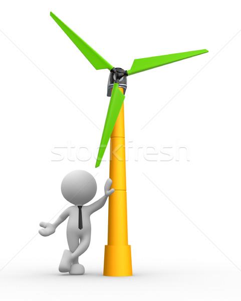 Wind turbine Stock photo © coramax