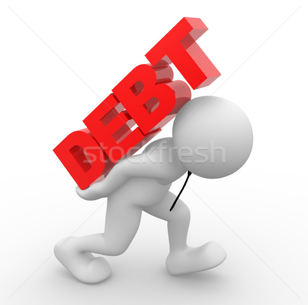 Debt concept Stock photo © coramax
