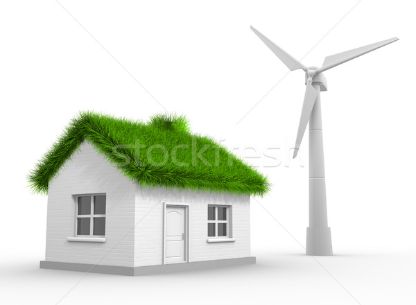 Wind turbine Stock photo © coramax