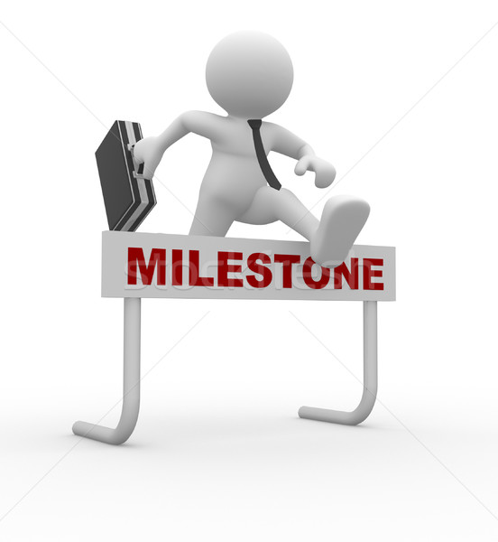 Milestone Stock photo © coramax