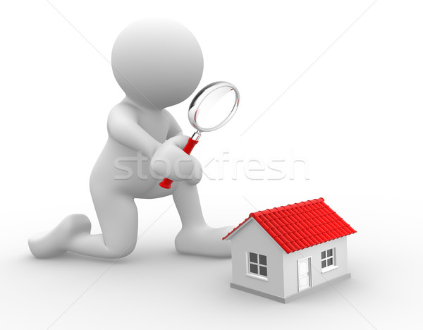 Magnifying glass Stock photo © coramax