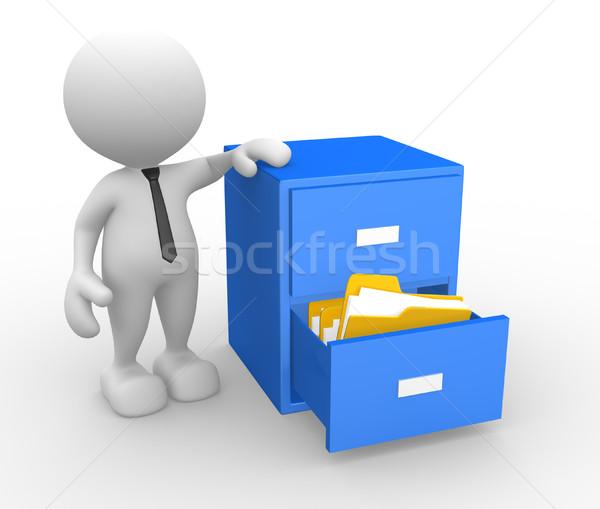 drawer  Stock photo © coramax
