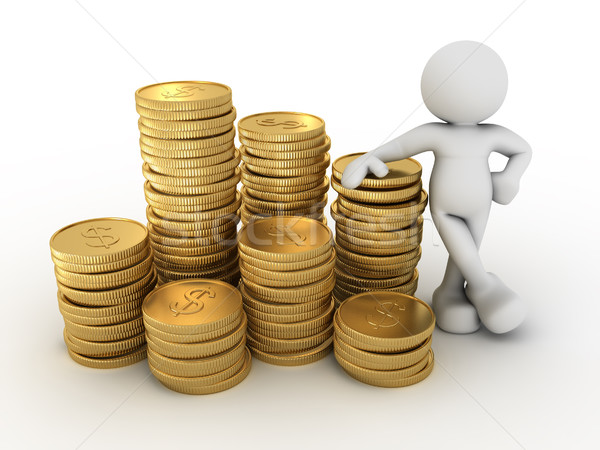 Stack of coins. Stock photo © coramax