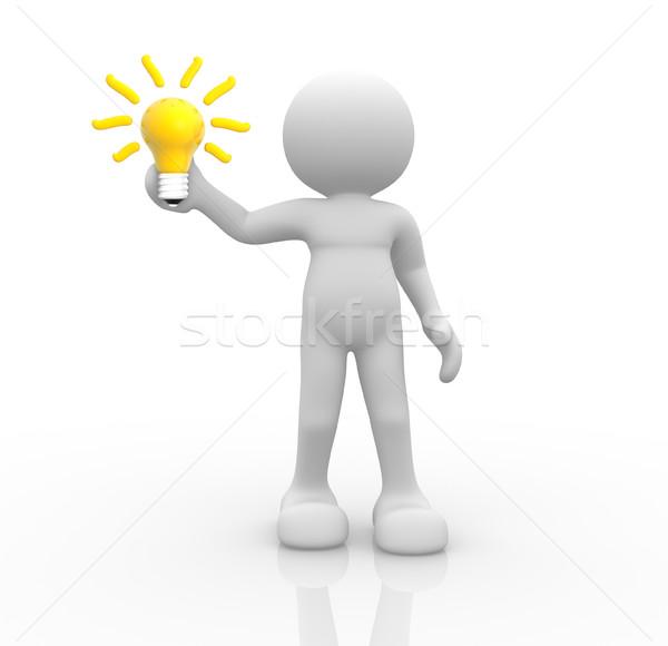 Light bulb Stock photo © coramax