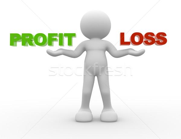 Profit or loss Stock photo © coramax
