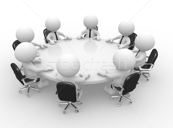 Conference table Stock photo © coramax