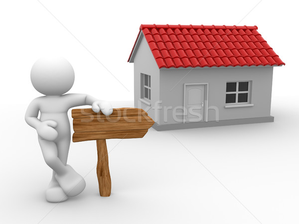 A house Stock photo © coramax