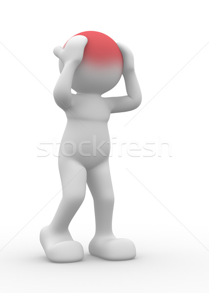 Stress concept Stock photo © coramax