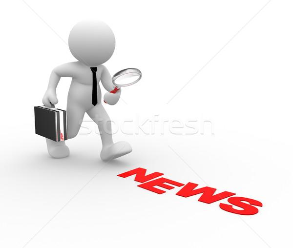 News concept Stock photo © coramax