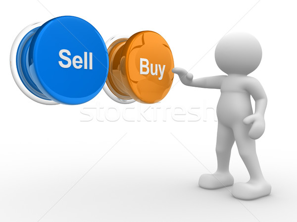 'Buy' os 'Sell' Stock photo © coramax
