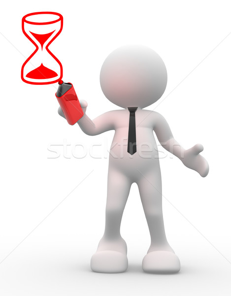 Hourglass  Stock photo © coramax