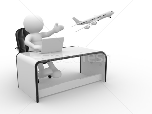 Travel agency Stock photo © coramax