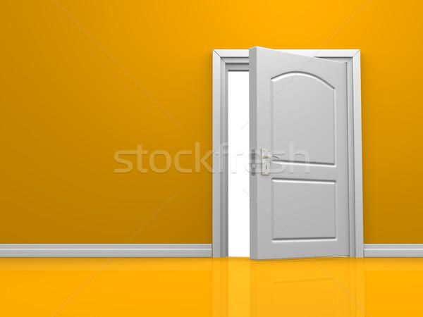 Stock photo: Door