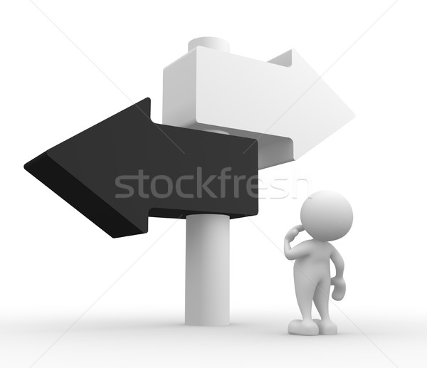 Directional sign Stock photo © coramax