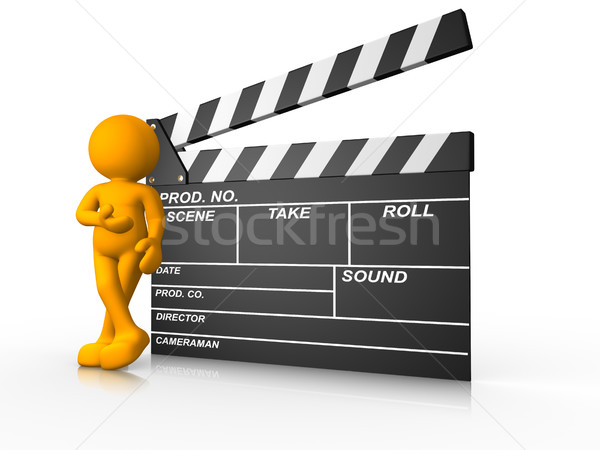 Clapperboard Stock photo © coramax