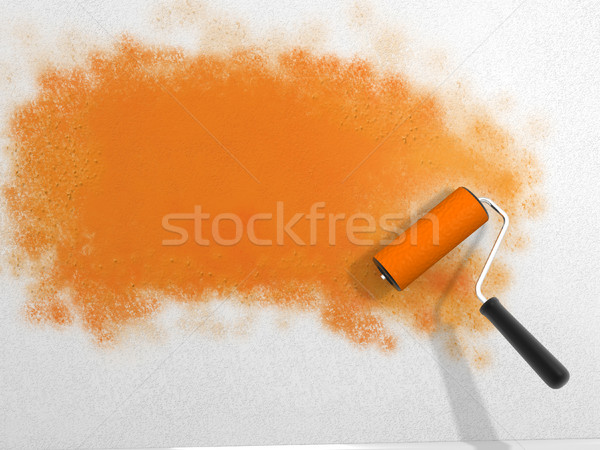 Paint roller Stock photo © coramax