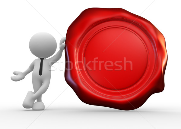 Wax seal Stock photo © coramax