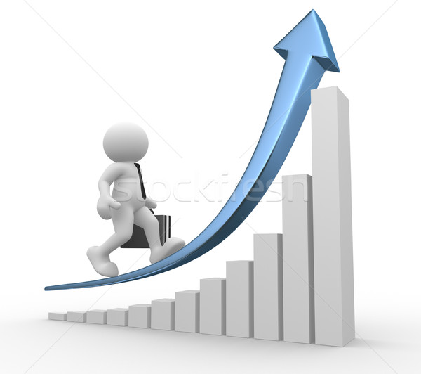 Graph Stock photo © coramax