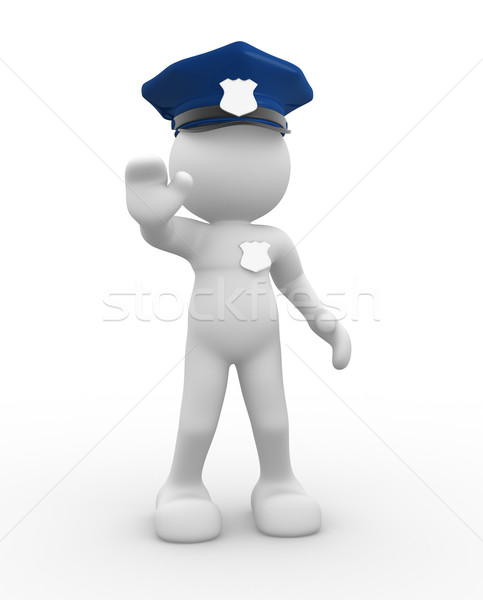 Policeman Stock photo © coramax