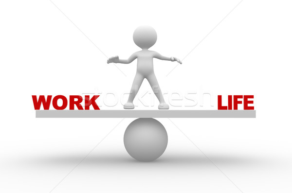 Work and life Stock photo © coramax