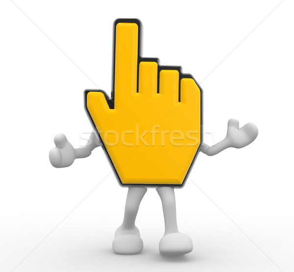 Hand cursor Stock photo © coramax