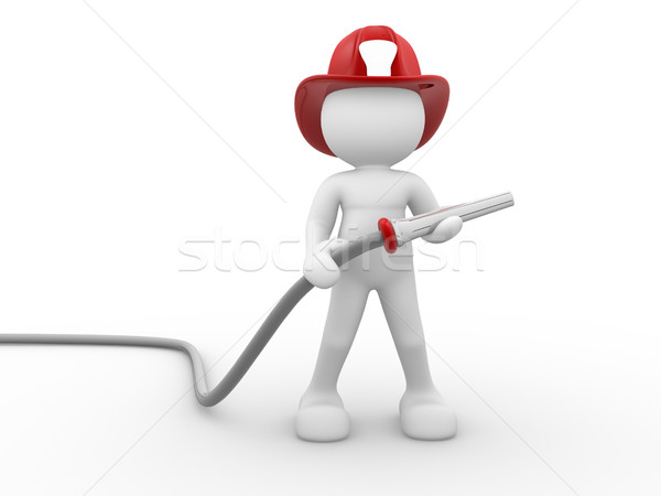 Fireman Stock photo © coramax