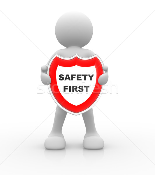 Safety first Stock photo © coramax