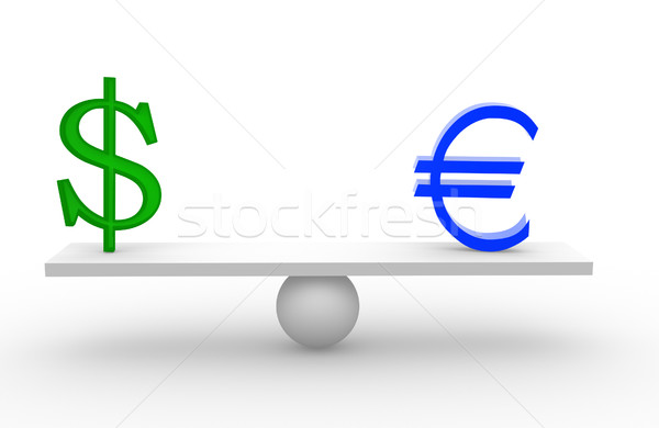 Euro and dollar Stock photo © coramax