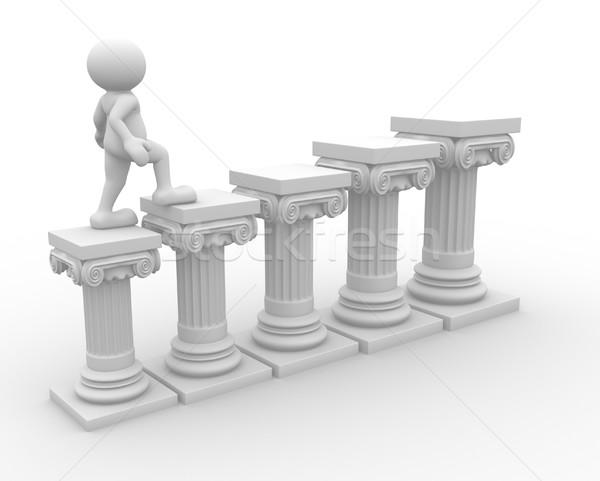 Roman column Stock photo © coramax