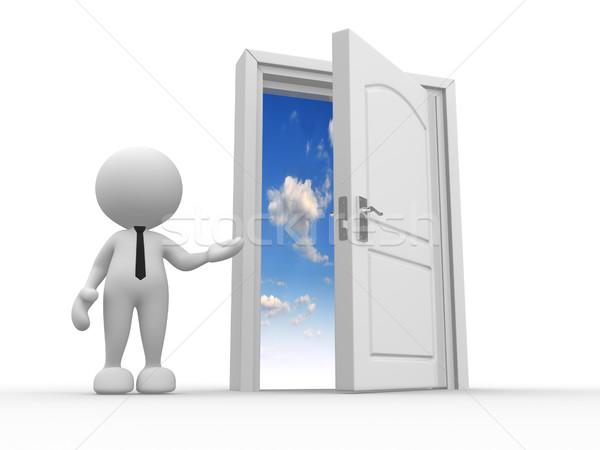 Open door Stock photo © coramax