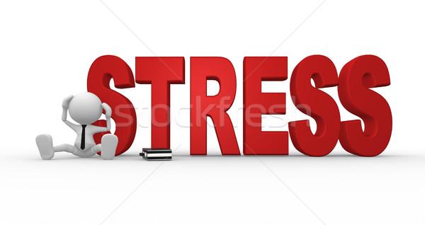 Stress concept Stock photo © coramax