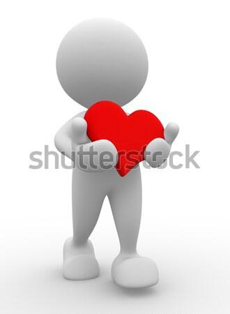 Hearth Stock photo © coramax