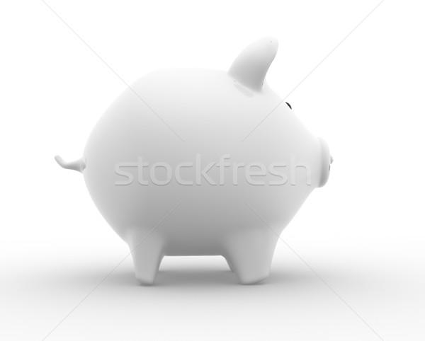 Persely 3d render pénz gazdaság érme bankügylet Stock fotó © coramax