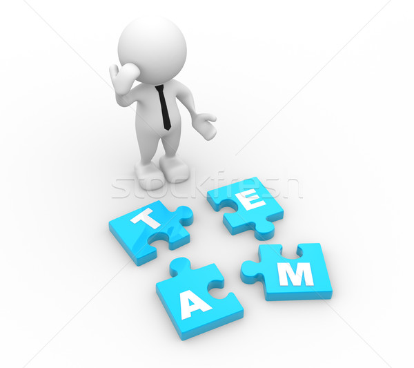 Pieces of puzzle.  Stock photo © coramax