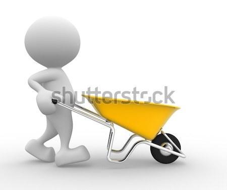 Wheelbarrow Stock photo © coramax
